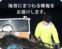 海苔にまつわる情報をおとどけします。